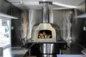 Pizza/Brick Oven Trailer
