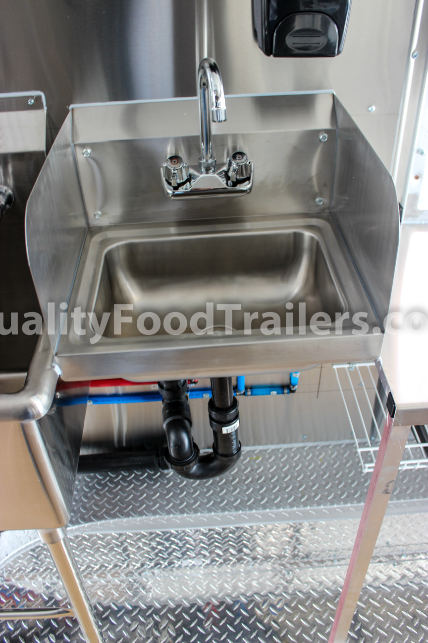 DOUBLE AXLE 16 FT CONCESSION TRAILER - Quality Food Trailers